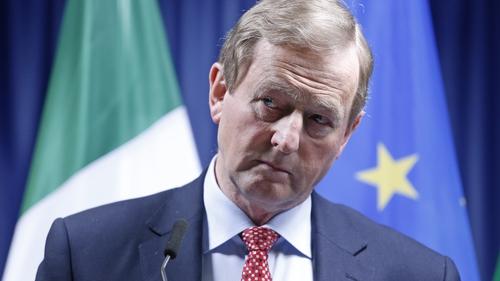 Enda Kenny stepped down as taoiseach in 2017