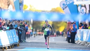 Othmane El Goumri comes home in record time