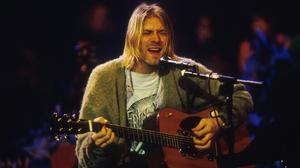 Kurt Cobain wore the iconic cardigan on the 1993 show