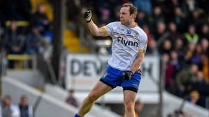 Ratoath's Eamon Wallace celebrates after a late point