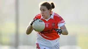 Louise Kerley scored 0-05 for Donaghmoyne