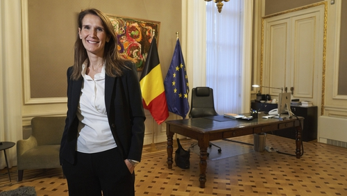 Sophie Wilmes, a liberal francophone, replaces Charles Michel, who is set to take over as European Council president in December