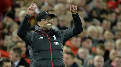 Reds boss Jurgen Klopp