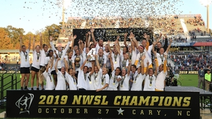 North Carolina Courage get the celebrations started