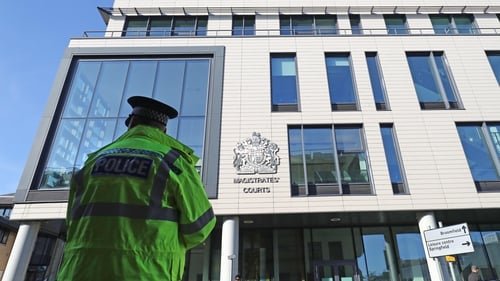 Maurice Robinson appeared at Chelmsford Magistrates' Court via video link