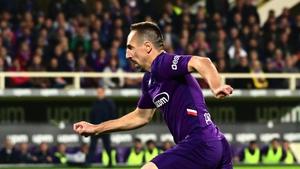 Ribery spent 12 years at Bayern Munich