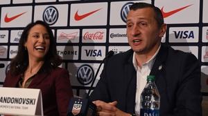 Vlatko Andonovski takes over from Jill Ellis