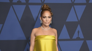 Jennifer Lopez arrives at the Governors Awards on Sunday, Oct. 27, 2019 (Jordan Strauss/AP)