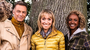 Chris Packham with Michaela Strachan and Gillian Burke
