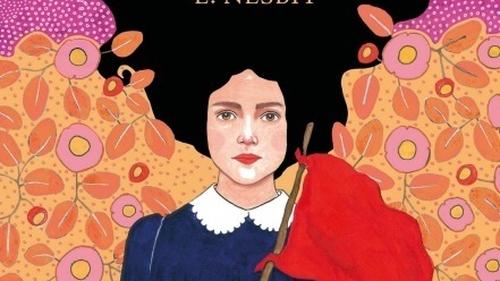 Detail from the covert art-work E Nesbit's The Railway Children in the Penguin edition