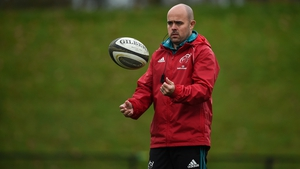 The 39-year-old South African arrived at Munster in 2017