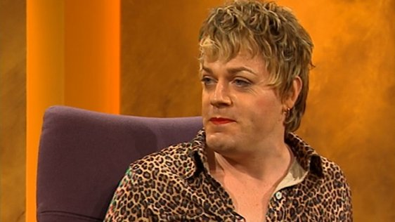 Eddie Izzard on the Late Late Show in 1996