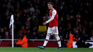 Mesut Ozil is on his way out of Arsenal
