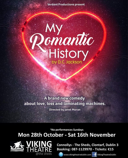 """My Romantic History"", a play directed by Janet Moran"