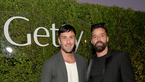 Jwan Yosef and Ricky Martin