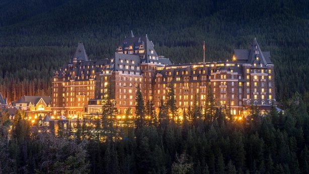 Banff Springs Hotel, Canada (iStock/PA)