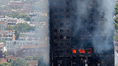 72 people died in the fire which engulfed the tower block in 2017