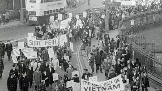 Vietnam Protest in Dublin (1969)