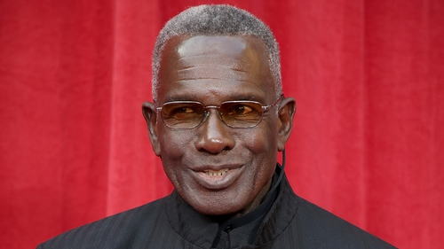 """Rudolph Walker - """"I am thrilled to be taking part in this year's competition and can't wait to get started. Although at 80-years-old, it's probably best I don't try to do the splits!"""""""