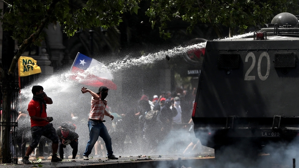 Chile scraps Asia-Pacific and climate summits today as massive protests continue