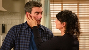 Moira tries to reconcile with Cain  but he has other ideas...