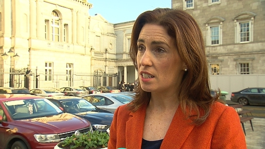Minister Hildegarde Naughton