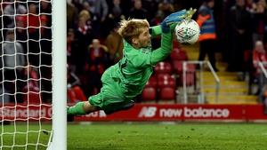Caoimhín Kelleher saved a penalty in the shootout