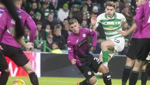 James Forrest scored Celtic's second