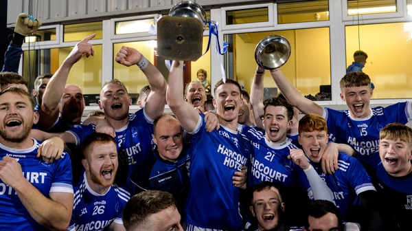 Naomh Conaill celebrate their hard-fought win