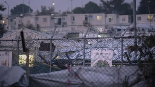 There are over 34,000 people living in overcrowded Greek island camps