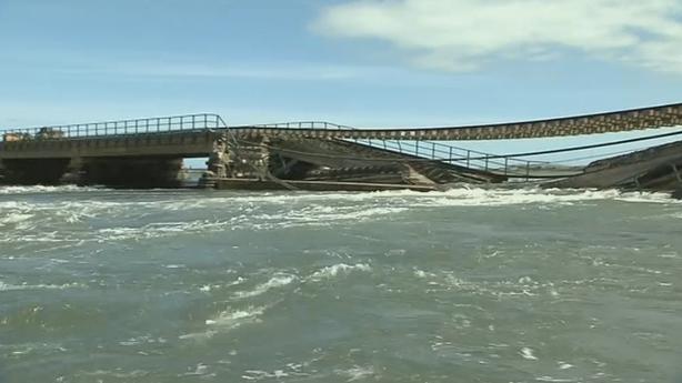 Malahide Viaduct Collapses (2009)