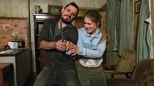 Johnny Ward as Ciarán and Mary-Lou McCarthy as Tessa