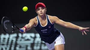 Ashleigh Barty won an impressive 80% of points on her first serve