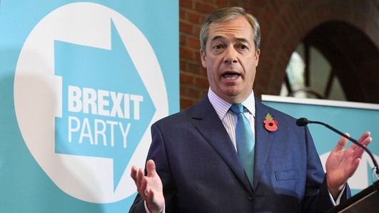 Farage says Brexit Party candidates offered jobs to quit