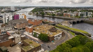 The campus will be on the old Dunnes Stores site in Limerick city