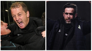 Which manager will be celebrating on Sunday evening?