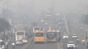 Air pollution in the Indian city of Amritsar