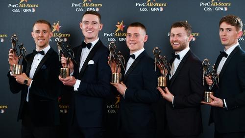 Paul Mannion, Brian Fenton, Con O'Callaghan, Jack McCaffrey and Michael Fitzsimons