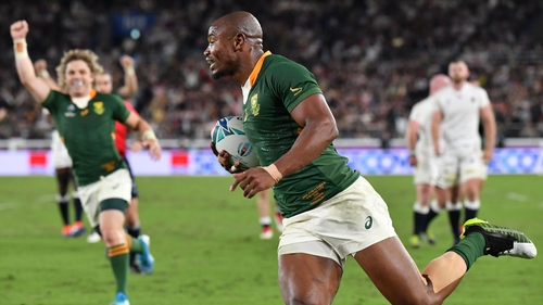 World Cup winners South Africa did not participate in last year's event
