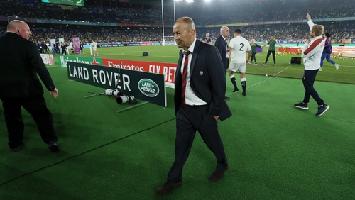 Eddie Jones admits to making selection mistakes in the World Cup final