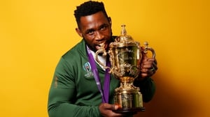 Kolisi is South Africa's first black captain