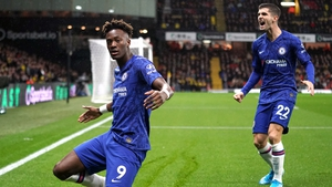 Abraham (L) and Pulisic were on target for Chelsea