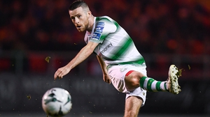 Jack Byrne has enjoyed his first season in the Airtricity League