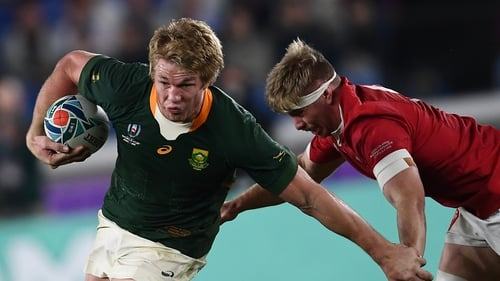 Alun Wyn Jones South African flanker Pieter-Steph Du Toit has succeeded Johnny Sexton as World Player of the Year