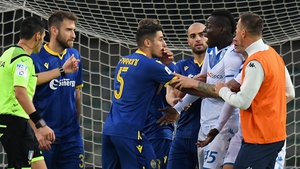 Mario Balotelli threatened to walk off the pitch after being racially abused by Verona fans earlier this month.
