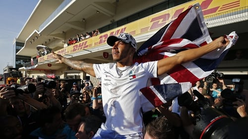Lewis Hamilton sealed his fifth drivers' title in six years in the US