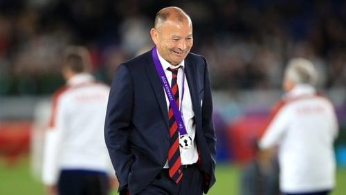 Eddie Jones admits to selection failings in RWC final