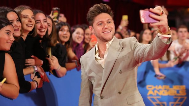 Niall Horan on the red carpet in Seville, Spain
