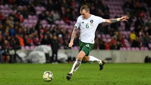 Glenn Whelan has earned 90 caps for the Republic of Ireland