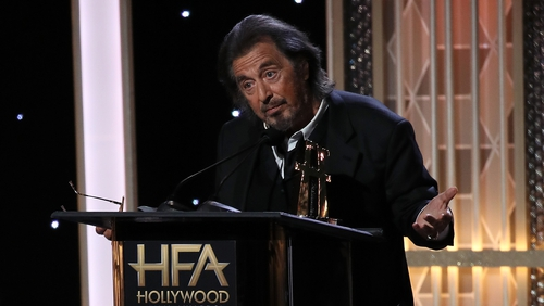 Al Pacino won Best Supporting Actor